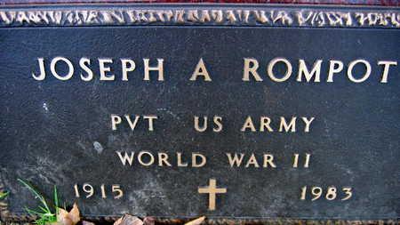 ROMPOT, JOSEPH A. - Linn County, Iowa   JOSEPH A. ROMPOT