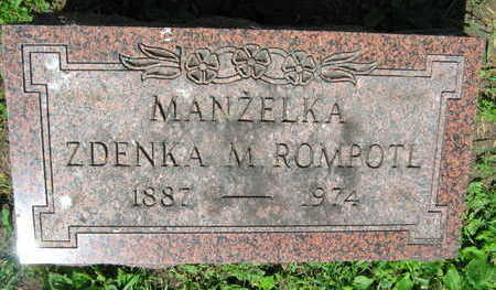 ROMPOTL, ZDENKA M. - Linn County, Iowa | ZDENKA M. ROMPOTL