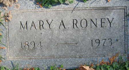 RONEY, MARY A. - Linn County, Iowa | MARY A. RONEY