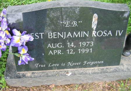 ROSA, ERNEST BENJAMIN IV - Linn County, Iowa | ERNEST BENJAMIN IV ROSA