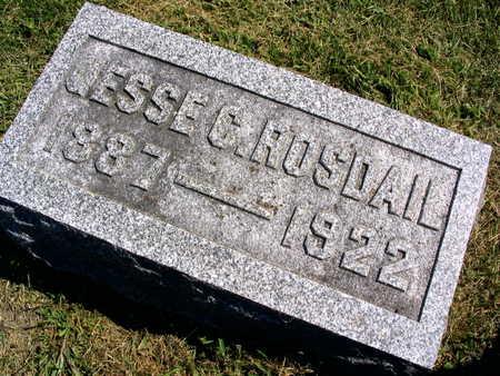 ROSDAIL, JESSE C. - Linn County, Iowa | JESSE C. ROSDAIL