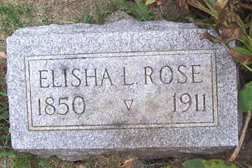 ROSE, ELISHA - Linn County, Iowa | ELISHA ROSE