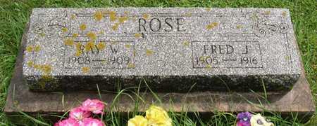 ROSE, FRED J. - Linn County, Iowa | FRED J. ROSE