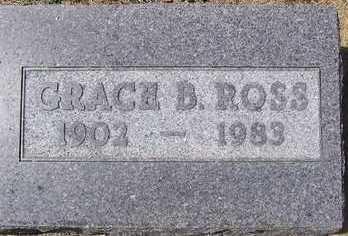 ROSS, GRACE B. - Linn County, Iowa   GRACE B. ROSS