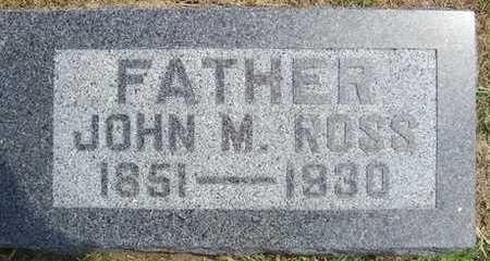 ROSS, JOHN M - Linn County, Iowa | JOHN M ROSS