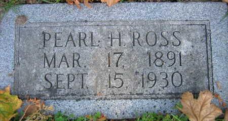 ROSS, PEARL H. - Linn County, Iowa | PEARL H. ROSS