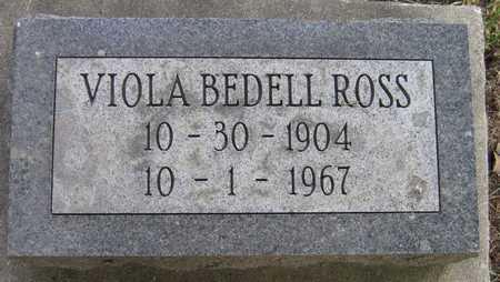 BEDELL ROSS, VIOLA - Linn County, Iowa   VIOLA BEDELL ROSS