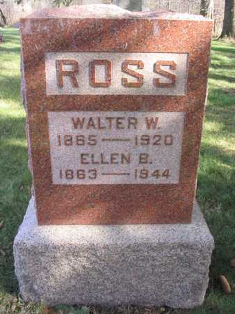 ROSS, WALTER W. - Linn County, Iowa | WALTER W. ROSS
