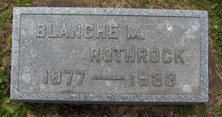 ROTHROCK, BLANCHE M. - Linn County, Iowa | BLANCHE M. ROTHROCK