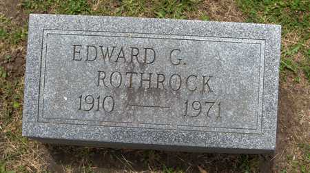 ROTHROCK, EDWARD G. - Linn County, Iowa | EDWARD G. ROTHROCK