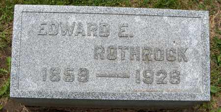 ROTHROCK, EDWARD E. - Linn County, Iowa | EDWARD E. ROTHROCK