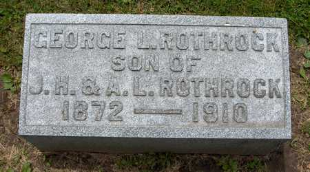 ROTHROCK, GEORGE L. - Linn County, Iowa | GEORGE L. ROTHROCK