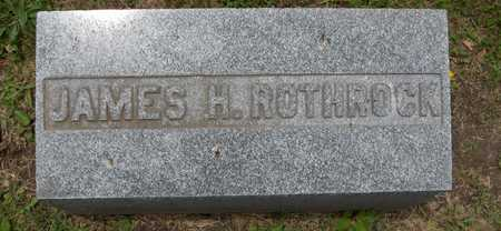 ROTHROCK, JAMES H. - Linn County, Iowa | JAMES H. ROTHROCK