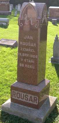ROUSAR, JAN - Linn County, Iowa | JAN ROUSAR