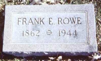 ROWE, FRANK E. - Linn County, Iowa | FRANK E. ROWE