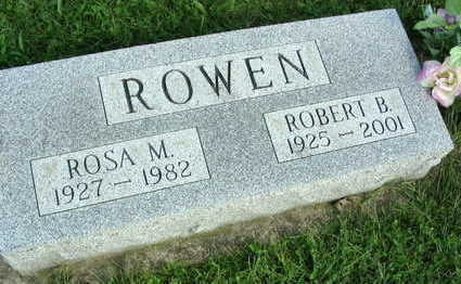 ROWEN, ROBERT B. - Linn County, Iowa   ROBERT B. ROWEN