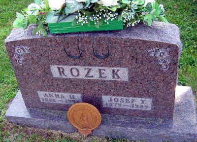ROZEK, JOSEF T. - Linn County, Iowa | JOSEF T. ROZEK