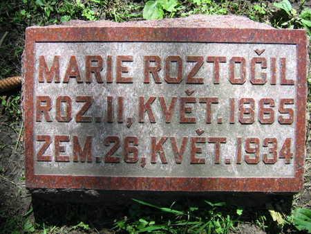 ROZTOCIL, MARIE - Linn County, Iowa | MARIE ROZTOCIL