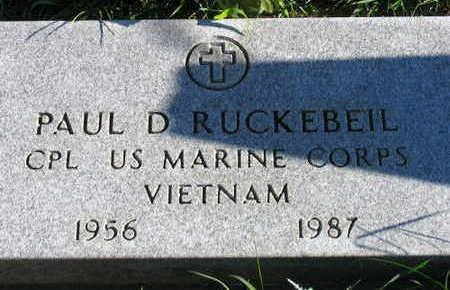 RUCKEBEIL, PAUL D. - Linn County, Iowa | PAUL D. RUCKEBEIL