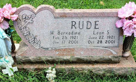 RUDE, LEON S. - Linn County, Iowa | LEON S. RUDE