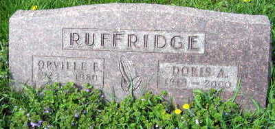 RUFFRIDGE, ORVILLE E. - Linn County, Iowa | ORVILLE E. RUFFRIDGE