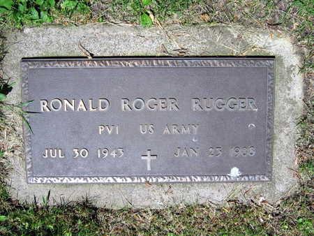 RUGGER, RONALD ROGER - Linn County, Iowa | RONALD ROGER RUGGER