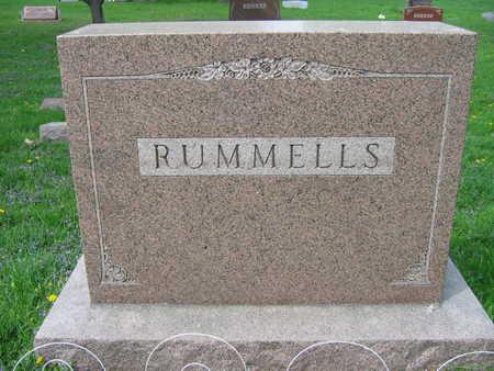 RUMMELLS, FAMILY STONE - Linn County, Iowa | FAMILY STONE RUMMELLS