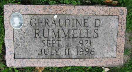 RUMMELLS, GERALDINE D. - Linn County, Iowa | GERALDINE D. RUMMELLS