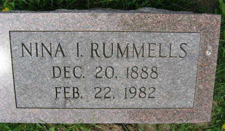 RUMMELLS, NINA I. - Linn County, Iowa | NINA I. RUMMELLS