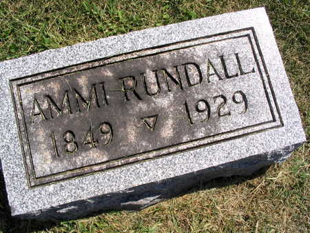 RUNDALL, AMMI - Linn County, Iowa | AMMI RUNDALL