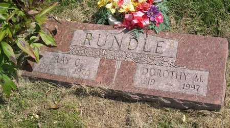 RUNDLE, DOROTHY M. - Linn County, Iowa | DOROTHY M. RUNDLE