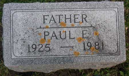 RUNKLE, PAUL E. - Linn County, Iowa | PAUL E. RUNKLE