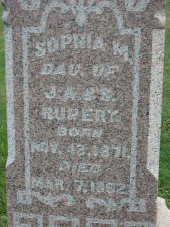 RUPERT, SOPHIA M. - Linn County, Iowa | SOPHIA M. RUPERT