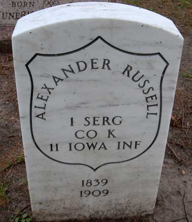 RUSSELL, ALEXANDER - Linn County, Iowa   ALEXANDER RUSSELL