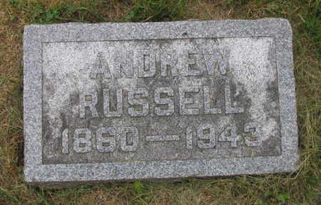 RUSSELL, ANDREW - Linn County, Iowa   ANDREW RUSSELL