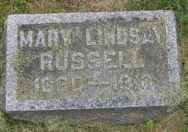 RUSSELL, MARY - Linn County, Iowa | MARY RUSSELL