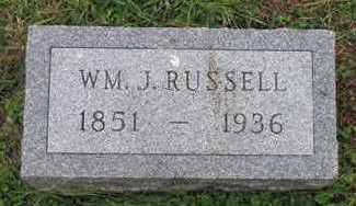 RUSSELL, WM. J - Linn County, Iowa | WM. J RUSSELL