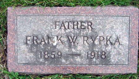 RYPKA, FRANK W. - Linn County, Iowa | FRANK W. RYPKA