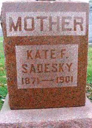 SADESKY, KATE F. - Linn County, Iowa | KATE F. SADESKY