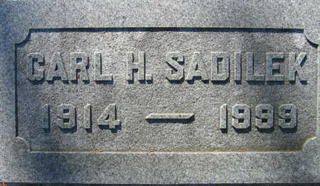 SADILEK, CARL H. - Linn County, Iowa   CARL H. SADILEK