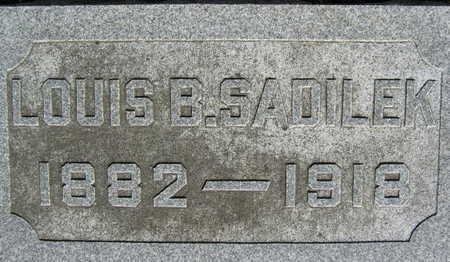SADILEK, LOUIS B. - Linn County, Iowa | LOUIS B. SADILEK