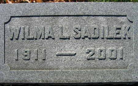 SADILEK, WILMA L. - Linn County, Iowa | WILMA L. SADILEK
