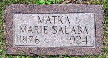 SALABA, MARIE - Linn County, Iowa | MARIE SALABA