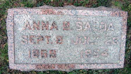 SALDA, ANNA B. - Linn County, Iowa | ANNA B. SALDA