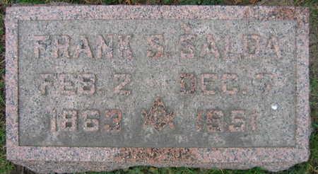SALDA, FRANK S. - Linn County, Iowa   FRANK S. SALDA