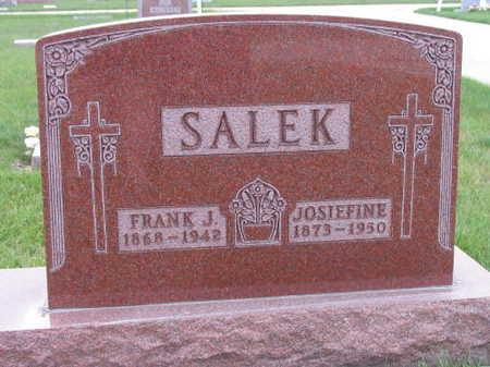 SALEK, JOSIEFINE - Linn County, Iowa | JOSIEFINE SALEK