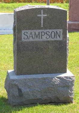 SAMPSON, FAMILY STONE - Linn County, Iowa | FAMILY STONE SAMPSON