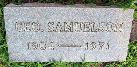 SAMUELSON, GEO. - Linn County, Iowa   GEO. SAMUELSON