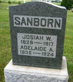 SANBORN, ADELAIDE A. - Linn County, Iowa | ADELAIDE A. SANBORN
