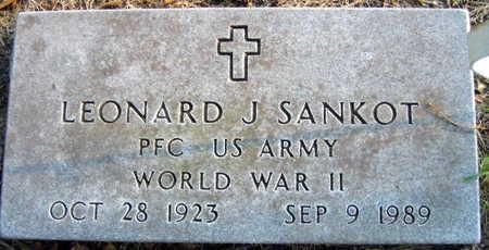 SANKOT, LEONARD J. - Linn County, Iowa | LEONARD J. SANKOT